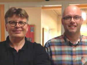 Gøngemester 2016: Hanus Brekka (tv). Morten Madsen (th) tog førstepladsen i Mester 2