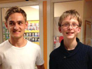 I Basis 2 delte Mathias Bogø (tv) og Oscar Koch-Müller (th) førstepladsen